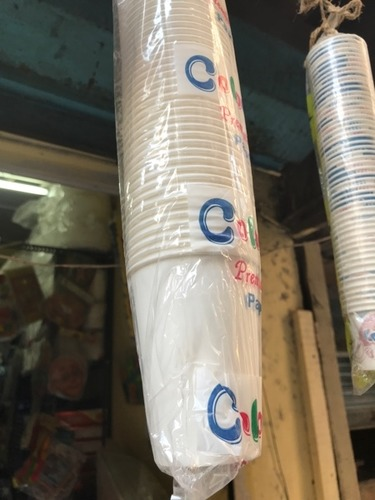 Disposable White Color Thermocol Glass