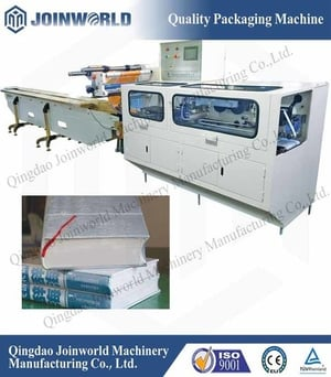 Book and Paper Heat Shrink Flow Wrapping Machine