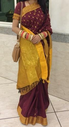 Designer Ladies Cotton Saree