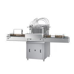 Fully Automatic Four Head Liquid Filling Machine