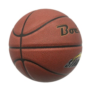 Laminated Soft Sticky PVC TPU Leather Basketball for Promotion