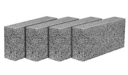 Optimum Strength Solid Concrete Blocks