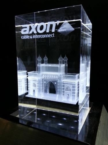 3D Gateway Of India Crystal Mementos