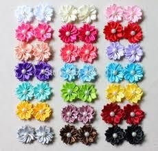 Floral Hair Pins With Pearl Embedded Certifications: Authorized Wholesale Suppliers In Sadar Bazaar. A Unit Of Trademark