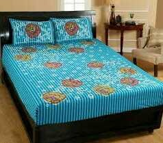 Double Cotton Bed Sheets