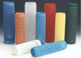 Flexible Textile Plastic Tube