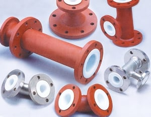 Durable PTFE Lined Pipe
