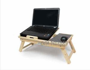 Light Weight Folding Laptop Table With Adjustable Height