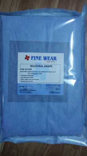 Medical Blue Disposable Surgical Bilateral Drape