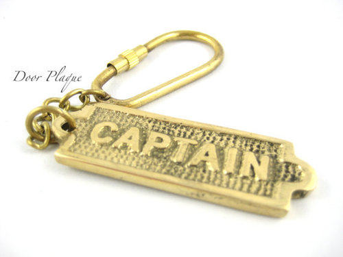 Door Plaque Key Chain
