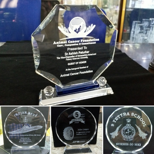 Customized 3D Crystal Awards