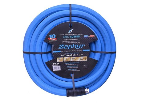 Zephyr Next Gen Water Hose 1a X 100ft Ultra Light Flexible Rubber With Brass End Fittings Inside Diameter 1 Inch In Price 9099 Inr Feet Id 4995515