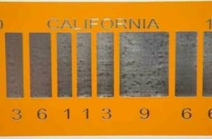 Barcode License Plate Services