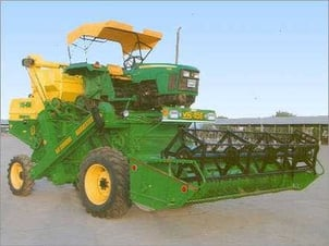 Heavy Agricultural Wheet Harvester