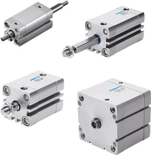 Double Acting Festo Compact Cylinder