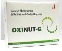 Oxinut G Ginseng Multivitamin And Multiminerals Capsules