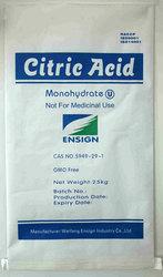 Powder Form Citric Acid