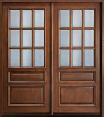 Designer Look Wooden Doors