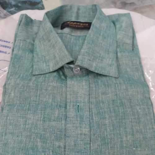 Plain Mens Linen Shirts