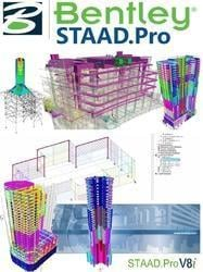 3D Structural Analysis and Design Software (STAAD.Pro)