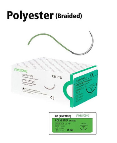 Medical Polyester Non-Absorbable Sutures in Shanghai