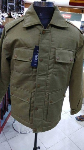 Customizes Size Mens Woolen Jacket Cool Pass