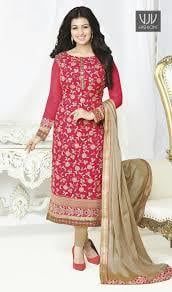 Dry Cleaning Smooth Texture Churidar Suits