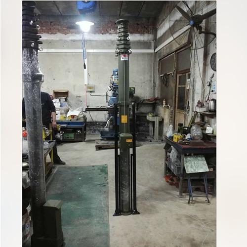 10m Manual Crank Telescopic Mast For Antenna/Wireless Cctv