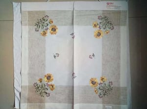 Embroidery Table Cloth & Linen