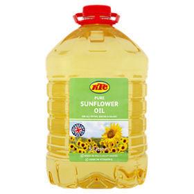 Pure Refined Sunflower Oil