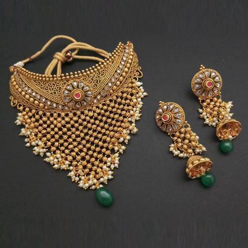 Fancy Copper Necklace Set