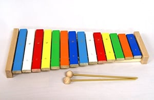Japanese Wood Forest Xylophone