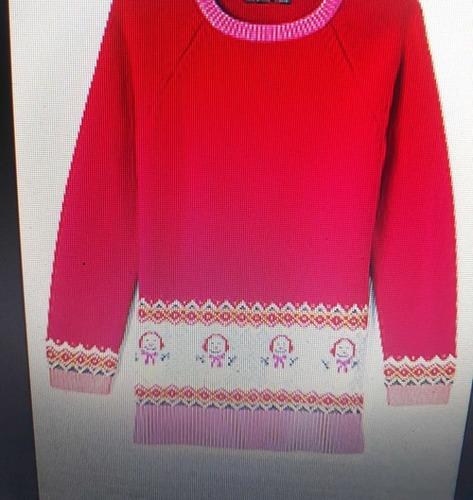 Customized Girls Woolen Top