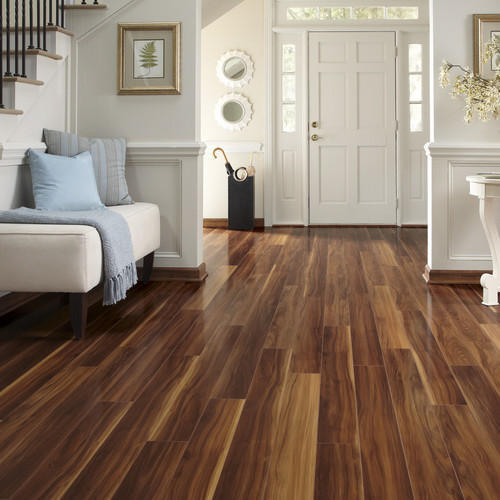 Laminated Wooden Flooring Tiles
