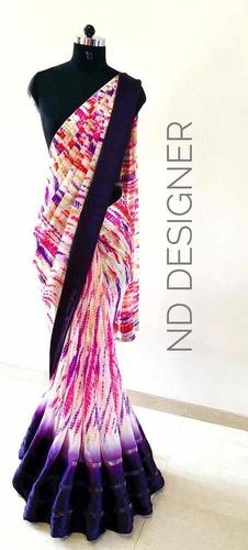 b63ea1a98 Designer Satin Patta Sarees - ND Designer