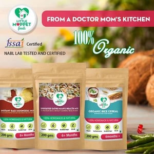 Organic Nutritional Baby Foods (Cereal)