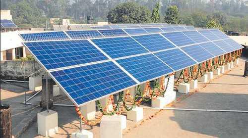 Solar Industrial Power Plant