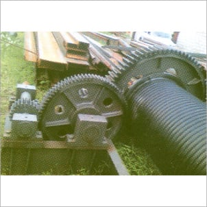 Heavy Duty Rope Drum Assembly