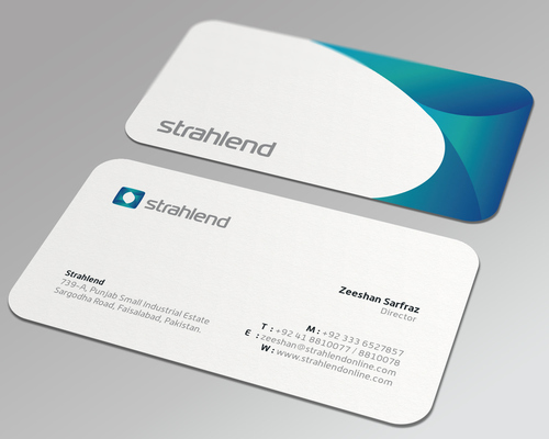 Rounded Corner Visiting Card At Best