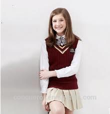 School Uniforms Girls Sweater