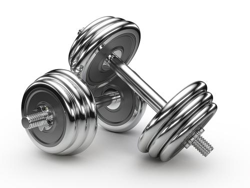 Steel Gym Dumbbell
