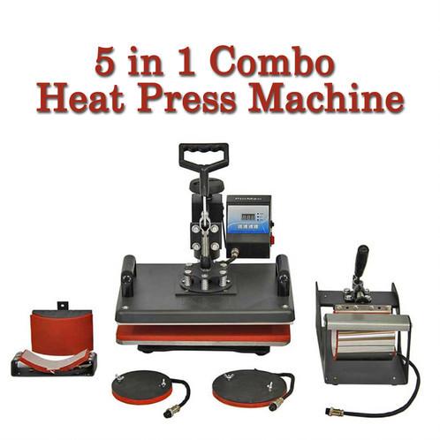 5in1 Combo Heat Press Machine