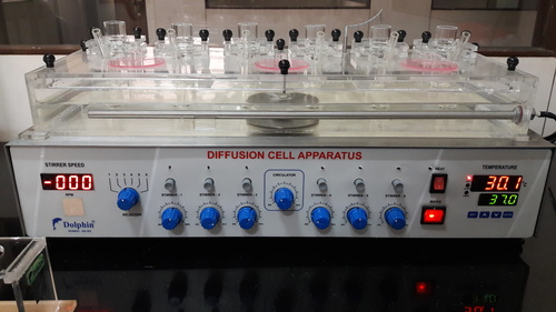 Diffusion Cell Apparatus (6 Channel)