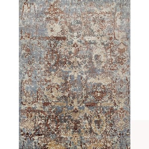 Hand Knotted Cut Pile Wool Rugs