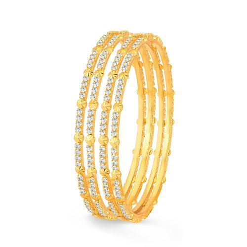 1780e239157 Sukkhi Glimmery Gold Plated Bangles For Women Set Of 12 in Bhiwandi ...