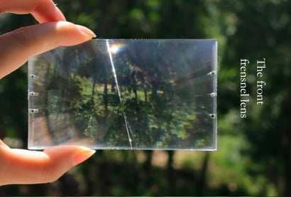 Fresnel Lens For 4.0 Inches Projector Magnifying Lens Optical Lens Type Certifications: Iso9000