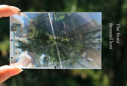 Fresnel Lens For 4.0 Inches [Projector Magnifying Optical Lens Type Four]