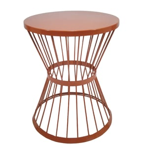 Iron Coffee Table with Copper Platting Shine