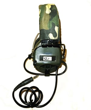 Noise Reduction Headset Electronic Sound Pickup Safety Ear Muffs With Microphone