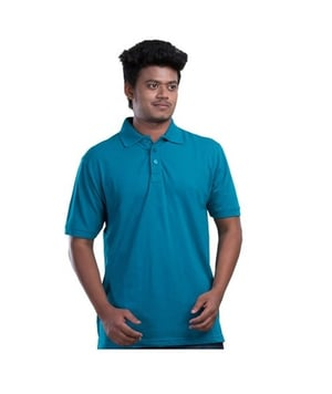 Slim Fit Polo Neck T Shirt